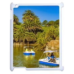 Parque Rodo Park, Montevideo, Uruguay Apple Ipad 2 Case (white) by dflcprintsclothing