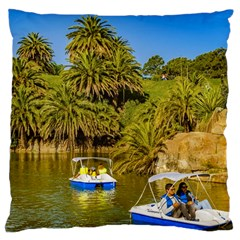 Parque Rodo Park, Montevideo, Uruguay Large Cushion Case (two Sides) by dflcprintsclothing