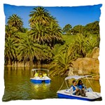 Parque Rodo Park, Montevideo, Uruguay Large Cushion Case (Two Sides) Back