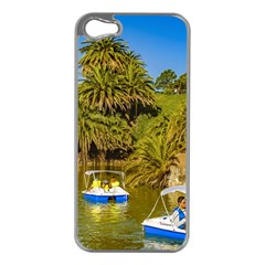 Parque Rodo Park, Montevideo, Uruguay Iphone 5 Case (silver) by dflcprintsclothing