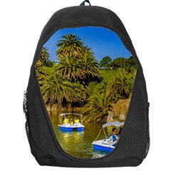 Parque Rodo Park, Montevideo, Uruguay Backpack Bag by dflcprintsclothing