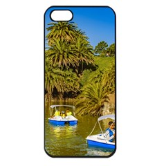 Parque Rodo Park, Montevideo, Uruguay Iphone 5 Seamless Case (black) by dflcprintsclothing