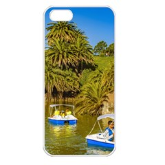 Parque Rodo Park, Montevideo, Uruguay Iphone 5 Seamless Case (white) by dflcprintsclothing