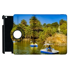 Parque Rodo Park, Montevideo, Uruguay Apple Ipad 3/4 Flip 360 Case by dflcprintsclothing