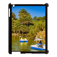 Parque Rodo Park, Montevideo, Uruguay Apple Ipad 3/4 Case (black) by dflcprintsclothing