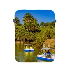 Parque Rodo Park, Montevideo, Uruguay Apple Ipad 2/3/4 Protective Soft Cases by dflcprintsclothing