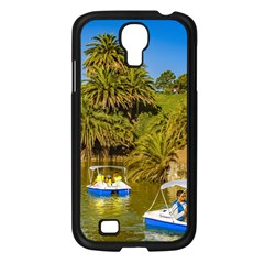 Parque Rodo Park, Montevideo, Uruguay Samsung Galaxy S4 I9500/ I9505 Case (black) by dflcprintsclothing