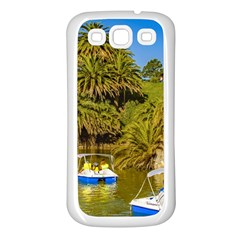 Parque Rodo Park, Montevideo, Uruguay Samsung Galaxy S3 Back Case (white) by dflcprintsclothing