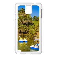 Parque Rodo Park, Montevideo, Uruguay Samsung Galaxy Note 3 N9005 Case (white) by dflcprintsclothing