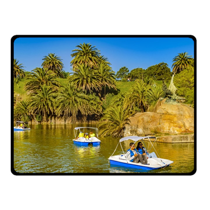 Parque Rodo Park, Montevideo, Uruguay Double Sided Fleece Blanket (Small)