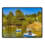 Parque Rodo Park, Montevideo, Uruguay Double Sided Fleece Blanket (Small)  45 x34  Blanket Back