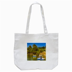 Parque Rodo Park, Montevideo, Uruguay Tote Bag (white) by dflcprintsclothing
