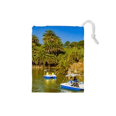 Parque Rodo Park, Montevideo, Uruguay Drawstring Pouch (small) by dflcprintsclothing