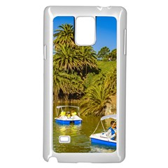 Parque Rodo Park, Montevideo, Uruguay Samsung Galaxy Note 4 Case (white) by dflcprintsclothing