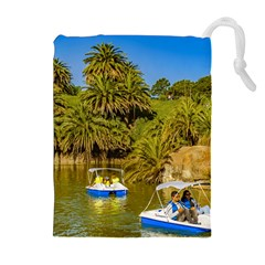 Parque Rodo Park, Montevideo, Uruguay Drawstring Pouch (xl) by dflcprintsclothing