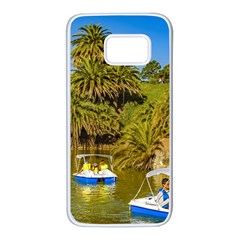 Parque Rodo Park, Montevideo, Uruguay Samsung Galaxy S7 White Seamless Case by dflcprintsclothing