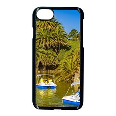 Parque Rodo Park, Montevideo, Uruguay Iphone 7 Seamless Case (black) by dflcprintsclothing