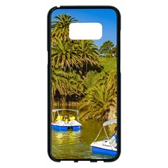 Parque Rodo Park, Montevideo, Uruguay Samsung Galaxy S8 Plus Black Seamless Case by dflcprintsclothing
