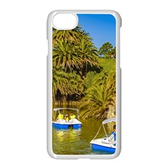 Parque Rodo Park, Montevideo, Uruguay Iphone 8 Seamless Case (white) by dflcprintsclothing