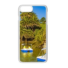 Parque Rodo Park, Montevideo, Uruguay Iphone 8 Plus Seamless Case (white) by dflcprintsclothing