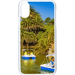 Parque Rodo Park, Montevideo, Uruguay Iphone X Seamless Case (white) by dflcprintsclothing