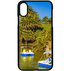 Parque Rodo Park, Montevideo, Uruguay Iphone X Seamless Case (black) by dflcprintsclothing