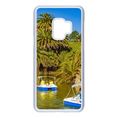 Parque Rodo Park, Montevideo, Uruguay Samsung Galaxy S9 Seamless Case(white) by dflcprintsclothing