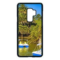 Parque Rodo Park, Montevideo, Uruguay Samsung Galaxy S9 Plus Seamless Case(black) by dflcprintsclothing