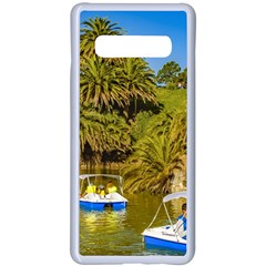 Parque Rodo Park, Montevideo, Uruguay Samsung Galaxy S10 Plus Seamless Case(white) by dflcprintsclothing