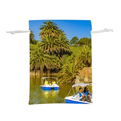 Parque Rodo Park, Montevideo, Uruguay Lightweight Drawstring Pouch (s) by dflcprintsclothing