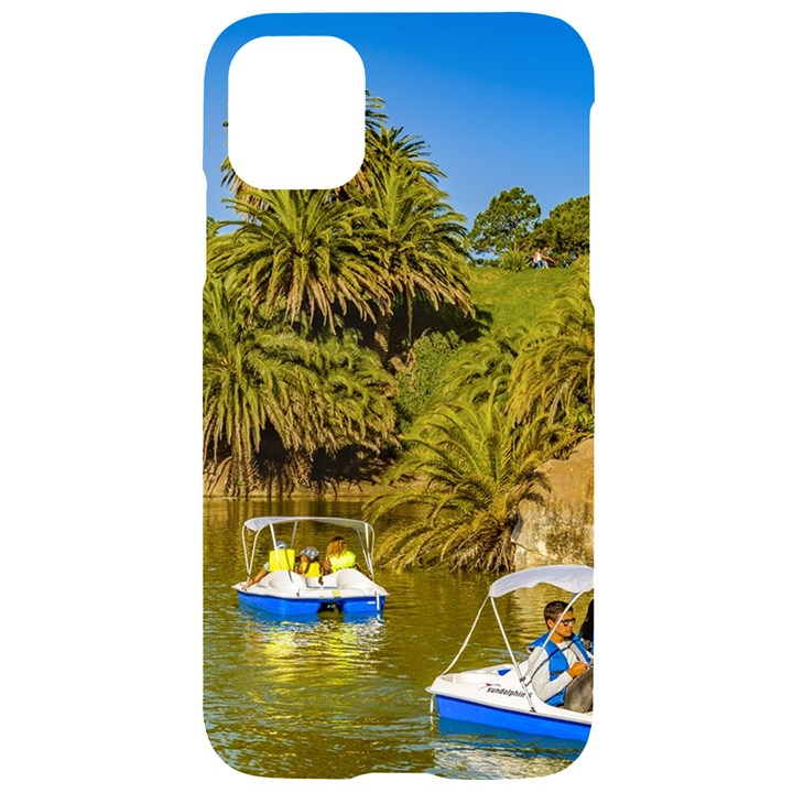Parque Rodo Park, Montevideo, Uruguay iPhone 11 Black UV Print Case