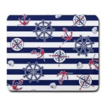 Seamless-marine-pattern Large Mousepads Front