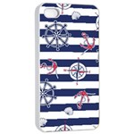 Seamless-marine-pattern iPhone 4/4s Seamless Case (White) Front