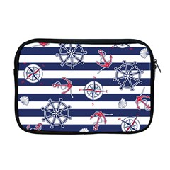 Seamless-marine-pattern Apple Macbook Pro 17  Zipper Case