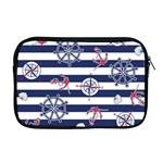 Seamless-marine-pattern Apple MacBook Pro 17  Zipper Case Front