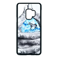 Hands Horse Hand Dream Samsung Galaxy S9 Seamless Case(black) by HermanTelo