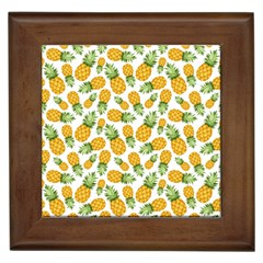 Pineapples Framed Tile by goljakoff