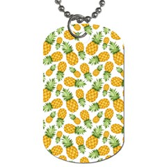 Pineapples Dog Tag (two Sides) by goljakoff