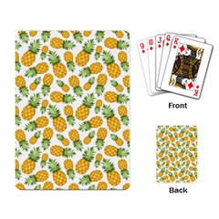 Pineapples Playing Cards Single Design (rectangle) by goljakoff