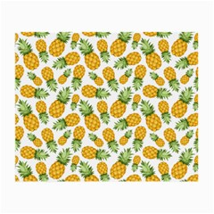 Pineapples Small Glasses Cloth (2 Sides) by goljakoff
