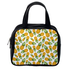 Pineapples Classic Handbag (one Side) by goljakoff
