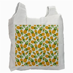Pineapples Recycle Bag (two Side) by goljakoff