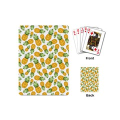 Pineapples Playing Cards Single Design (mini) by goljakoff