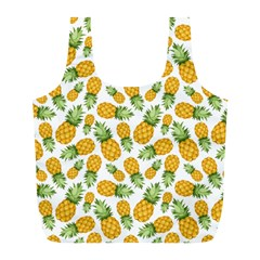 Pineapples Full Print Recycle Bag (l) by goljakoff
