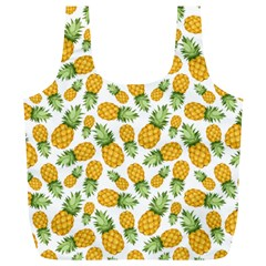 Pineapples Full Print Recycle Bag (xl) by goljakoff