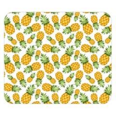 Pineapples Double Sided Flano Blanket (small)  by goljakoff