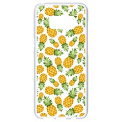 Pineapples Samsung Galaxy S8 White Seamless Case