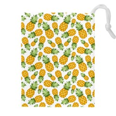 Pineapples Drawstring Pouch (3xl) by goljakoff