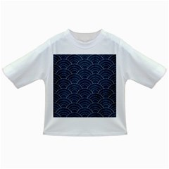 Blue Sashiko Pattern Infant/toddler T-shirts by goljakoff