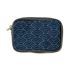 Blue Sashiko Pattern Coin Purse by goljakoff